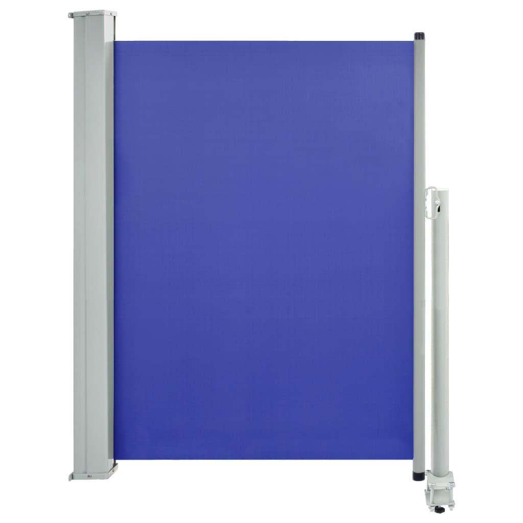 vidaXL Σκίαστρο Πλαϊνό Συρόμενο Βεράντας Μπλε 100 x 300 εκ.
