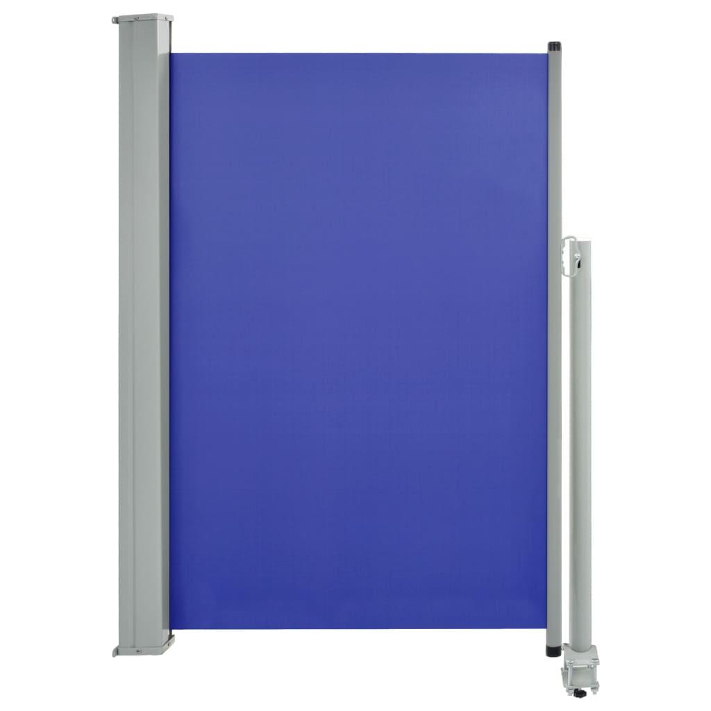 vidaXL Σκίαστρο Πλαϊνό Συρόμενο Βεράντας Μπλε 120 x 300 εκ.