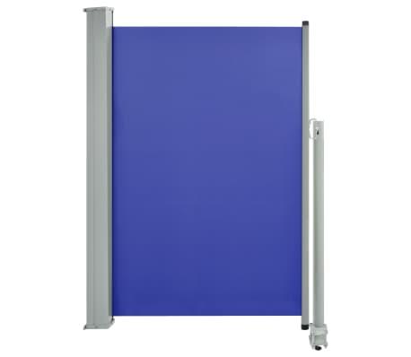 vidaXL Tuinscherm uittrekbaar 120x300 cm blauw[2/7]