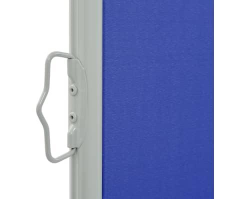 vidaXL Tuinscherm uittrekbaar 120x300 cm blauw[3/7]