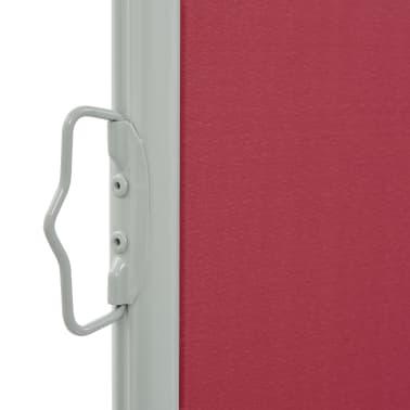 vidaXL Tuinscherm uittrekbaar 120x300 cm rood[3/7]