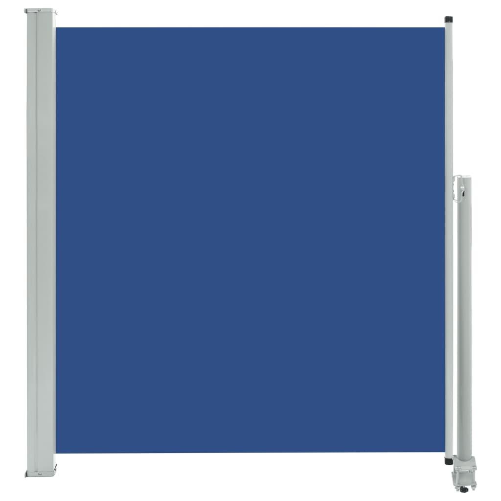 vidaXL Σκίαστρο Πλαϊνό Συρόμενο Βεράντας Μπλε 140 x 300 εκ.