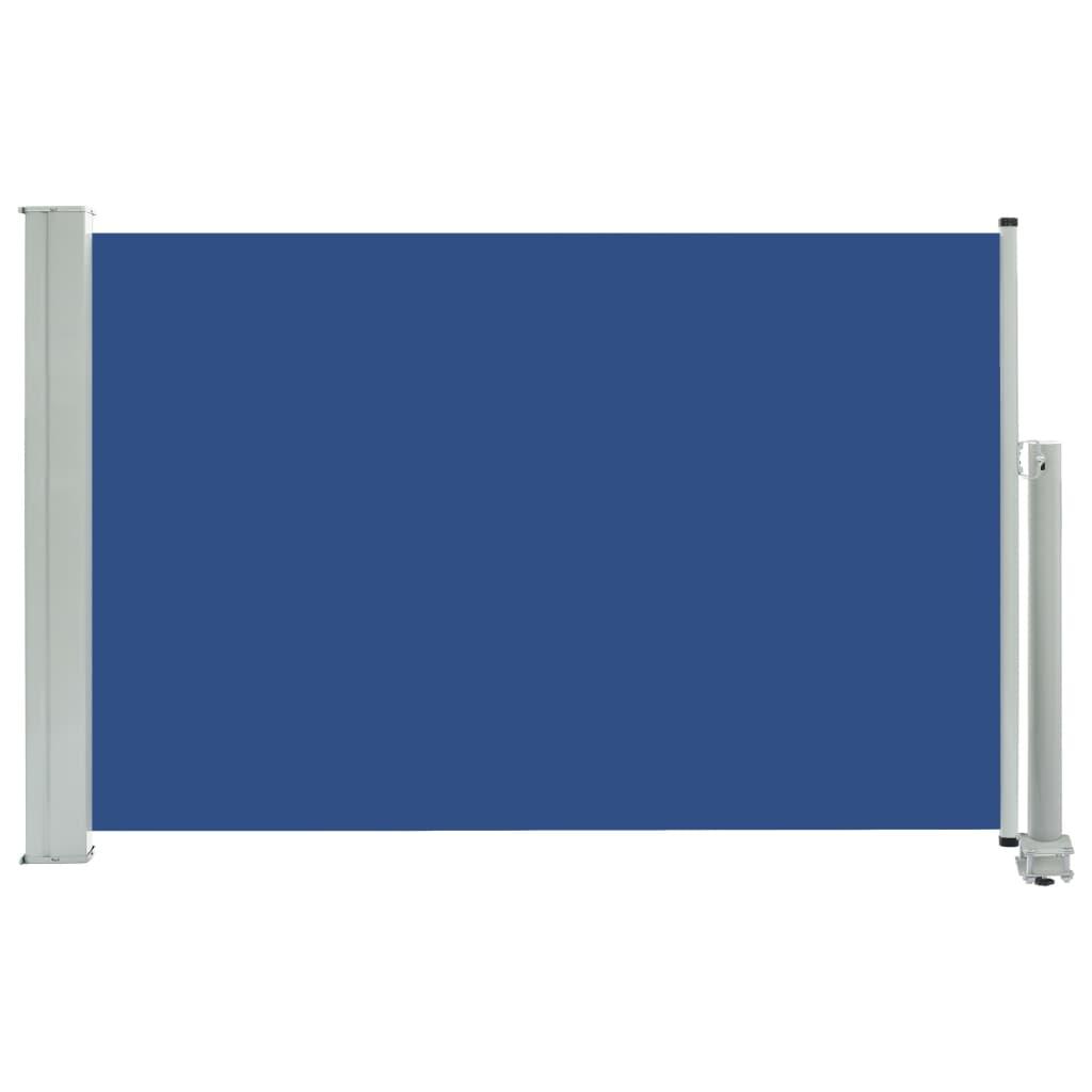 vidaXL Σκίαστρο Πλαϊνό Συρόμενο Βεράντας Μπλε 60 x 300 εκ.