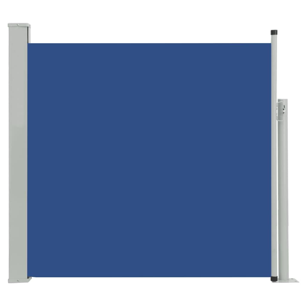 vidaXL Σκίαστρο Πλαϊνό Συρόμενο Βεράντας Μπλε 170 x 300 εκ.