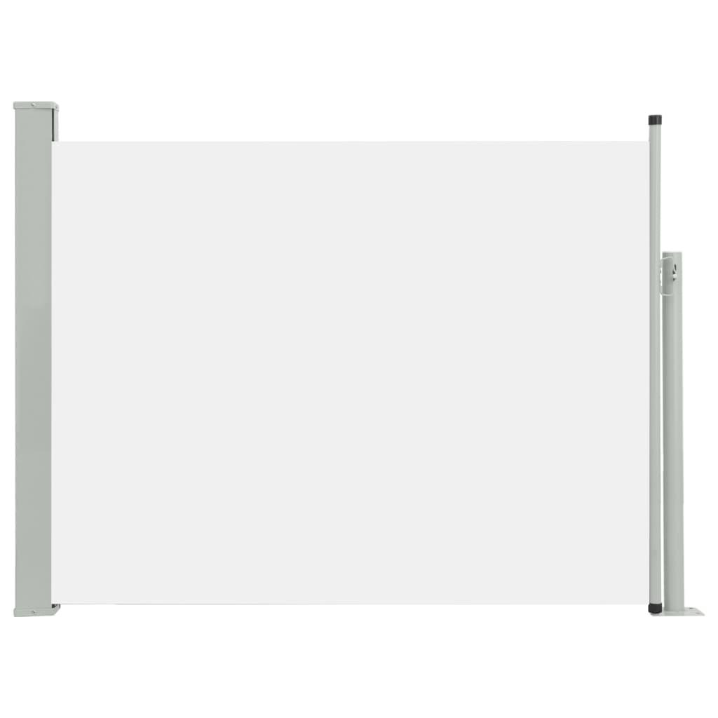 vidaXL Σκίαστρο Πλαϊνό Συρόμενο Βεράντας Κρεμ 170 x 500 εκ.