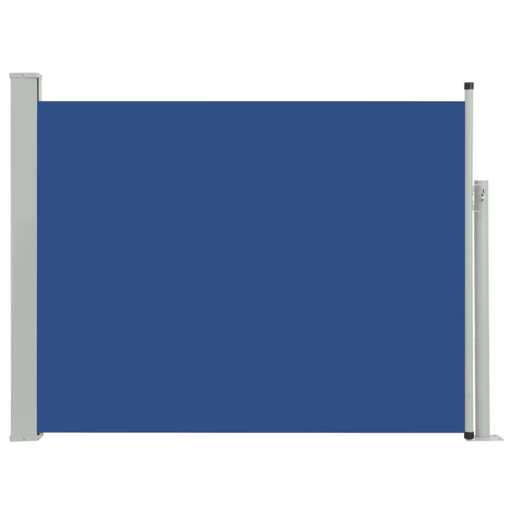 vidaXL Σκίαστρο Πλαϊνό Συρόμενο Βεράντας Μπλε 170 x 500 εκ.