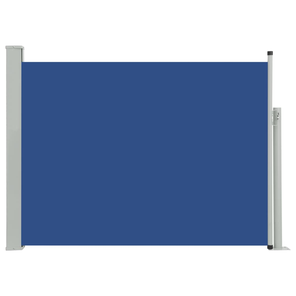 vidaXL Σκίαστρο Πλαϊνό Συρόμενο Βεράντας Μπλε 100 x 500 εκ.