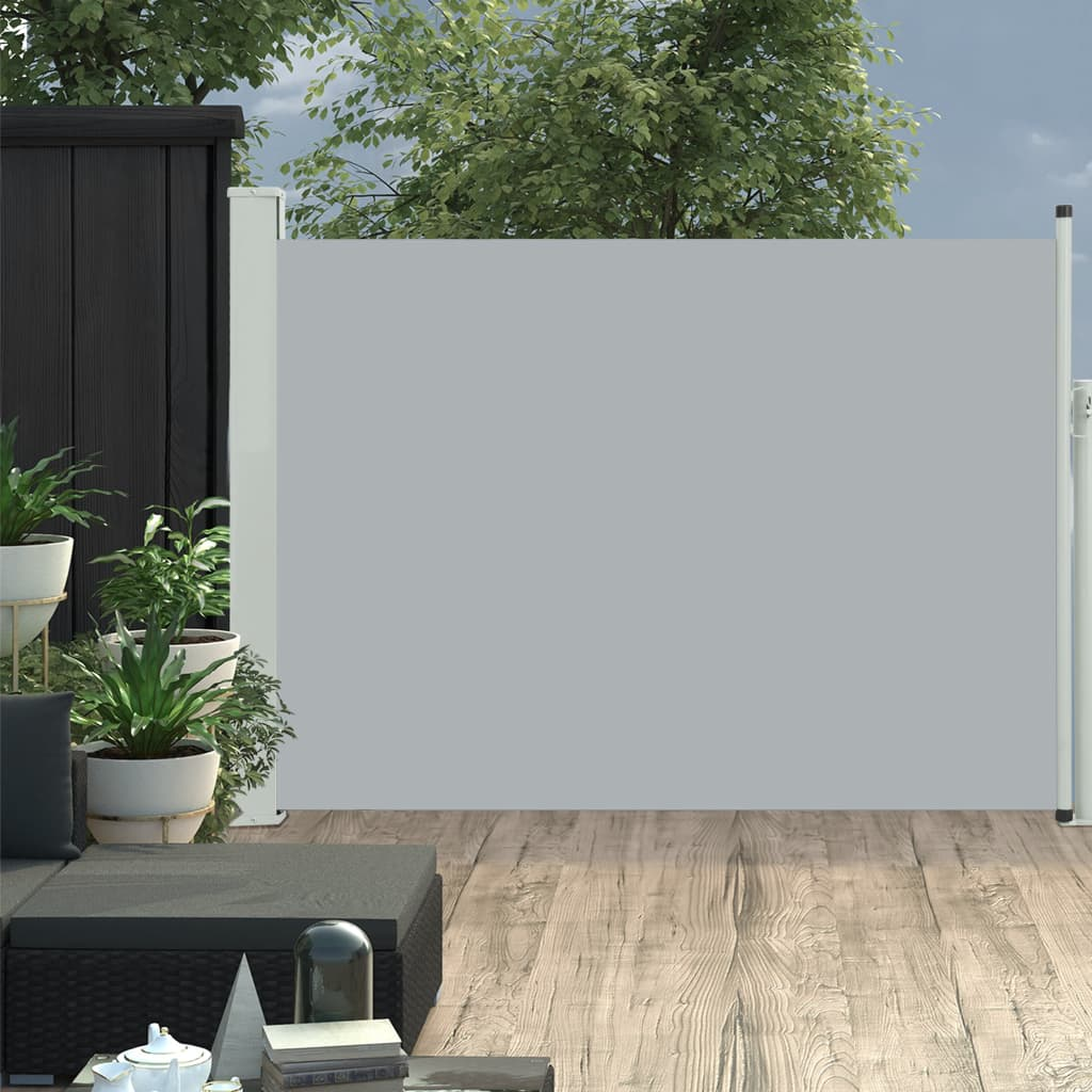 Lahtitõmmatav terrassi külgsein, 100 x..