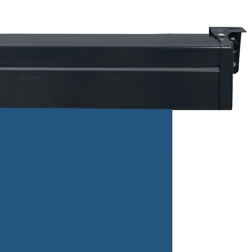 vidaXL Balkonscherm 60x250 cm blauw