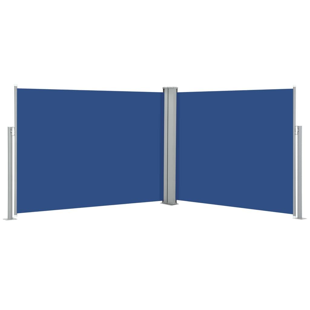 vidaXL Σκίαστρο Πλαϊνό Συρόμενο Μπλε 170 x 1000 εκ.