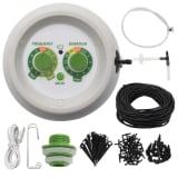 vidaXL Kit Automatico di Irrigazione Interna a Goccia con Regolatore