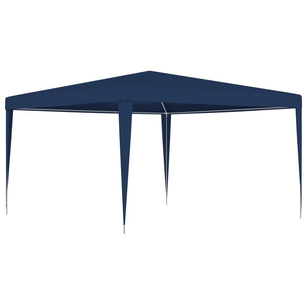 vidaXL Cort de petrecere, albastru, 4 x 4 m poza vidaxl.ro