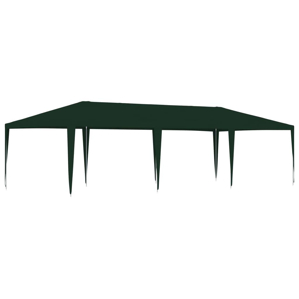 vidaXL Partytent professioneel 90 g-m² 4x9 m groen