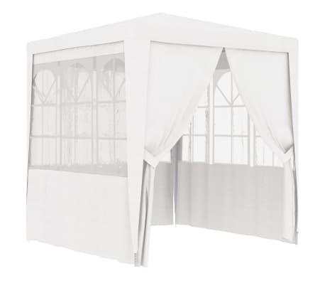 vidaXL Partytent met zijwanden professioneel 90 g/m² 2x2 m wit