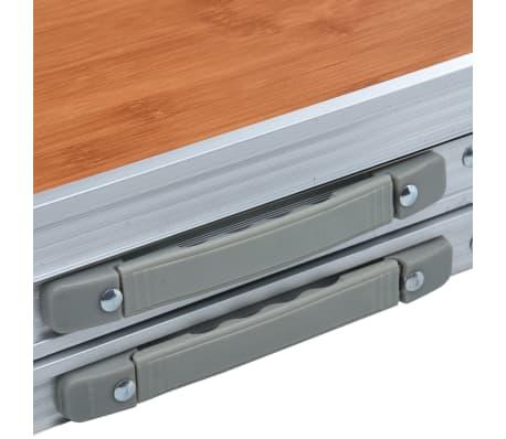 Tavolo Da Campeggio Alluminio.Vidaxl Tavolo Da Campeggio Pieghevole In Alluminio 180x60 Cm
