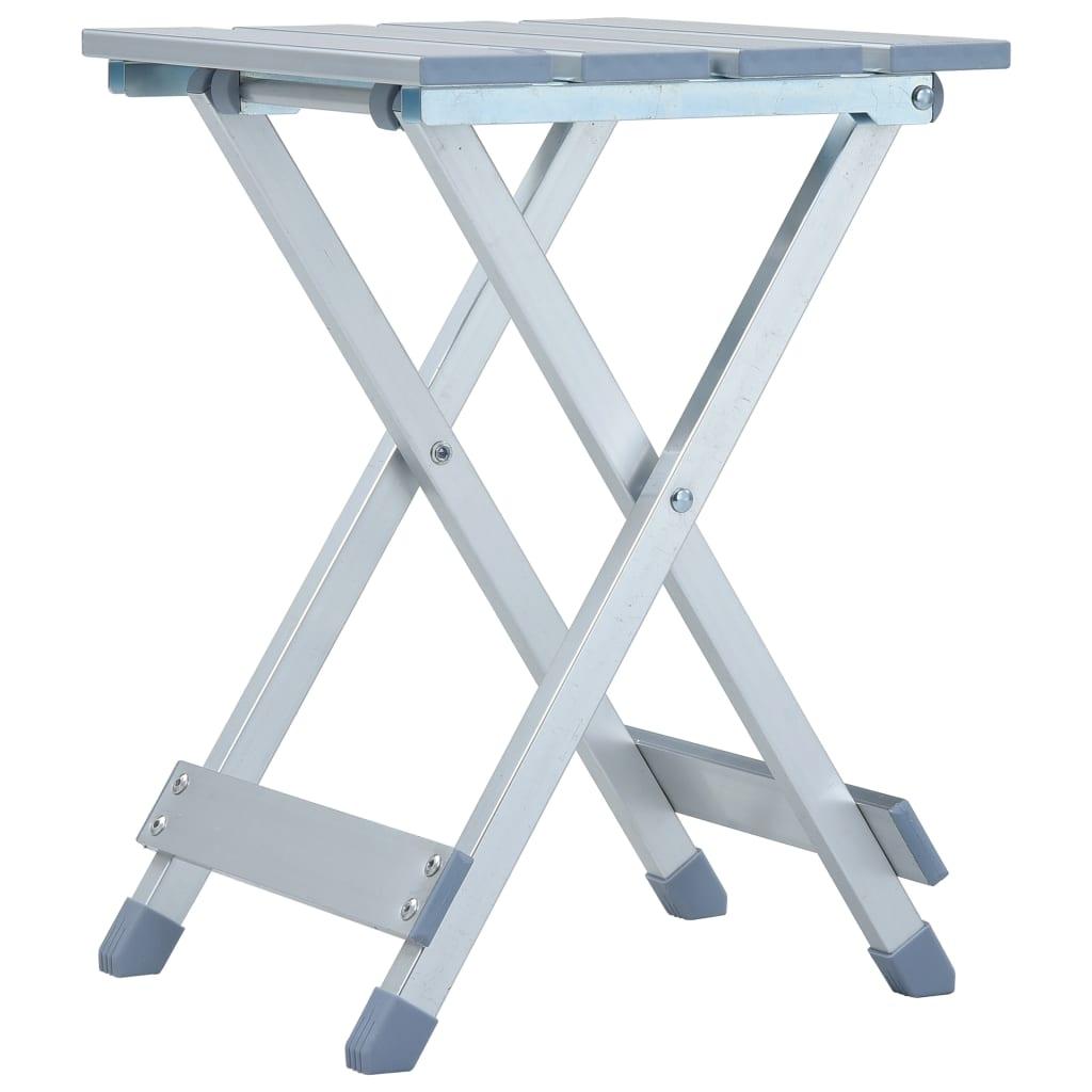 Kempingová stolička hliník 28 x 26 x 39 cm