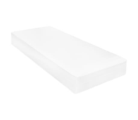 vidaXL Vaikiška lova policijos automobilis, Memory čiužinys, 90x200cm[11/20]