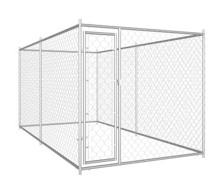 vidaXL Outdoor Dog Kennel 382x192x185 cm