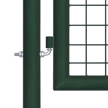 vidaXL Poort 100x75 cm staal groen[3/5]