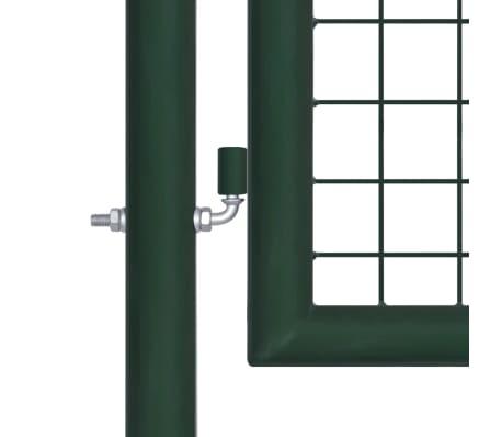 vidaXL Poort 100x200 cm staal groen[3/5]