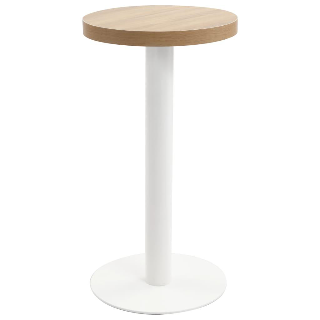 Bistro stolek světle hnědý 40 cm MDF