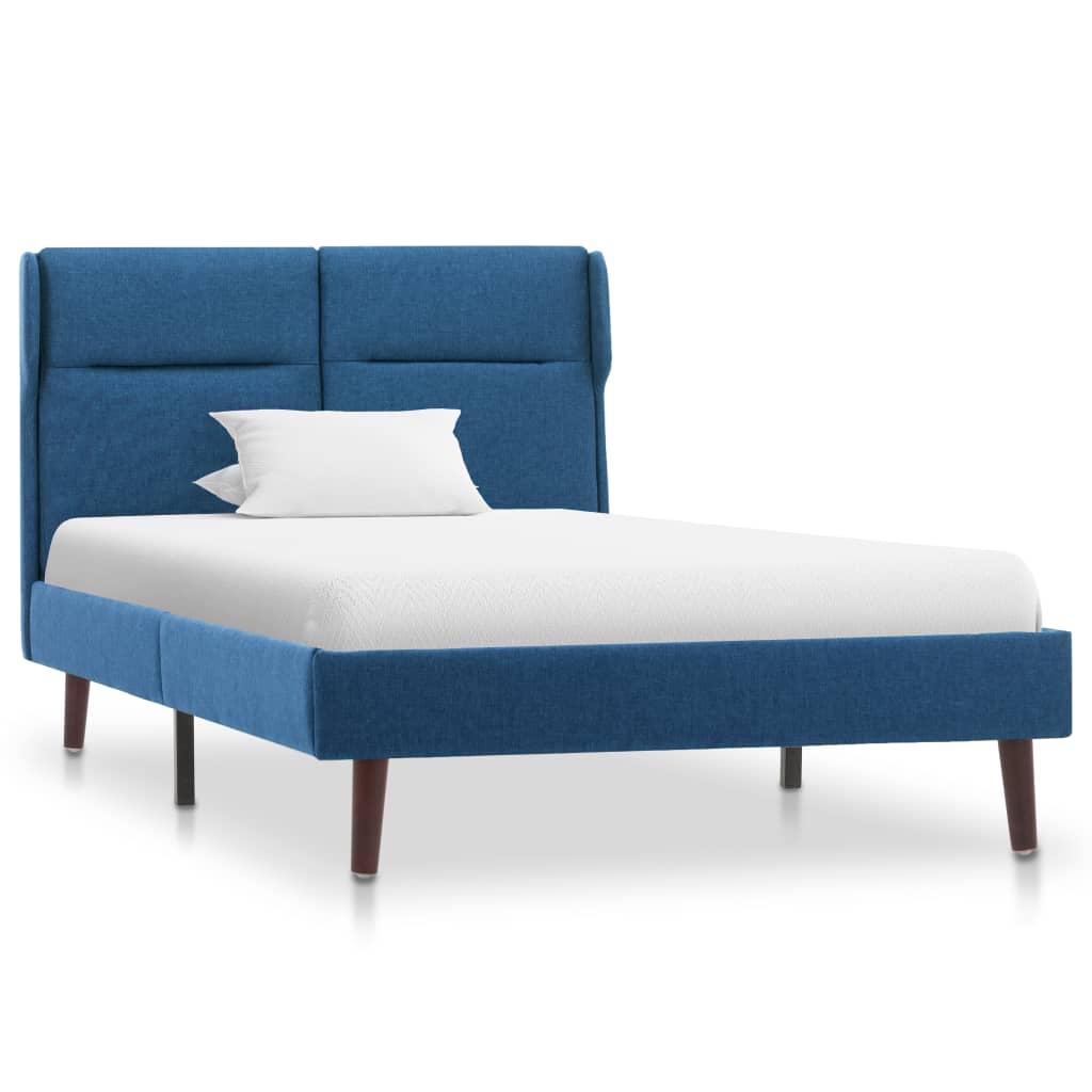 Voodiraam, sinisest kangast, 90 x 200 cm