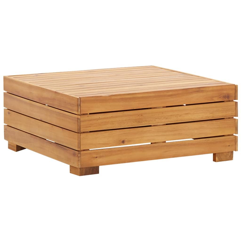 vidaXL Dílčí stolek 1 ks masivní akáciové dřevo