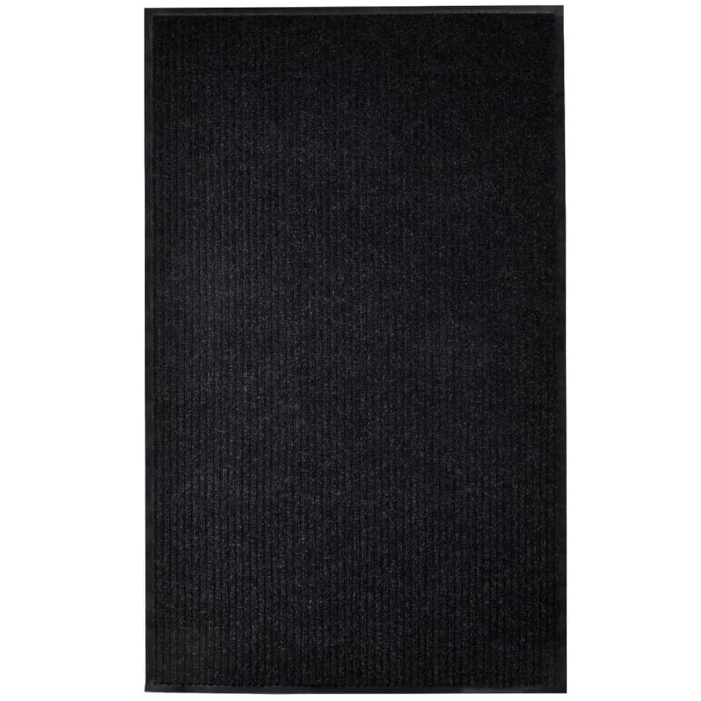 Rohožka černá 160 x 220 cm PVC