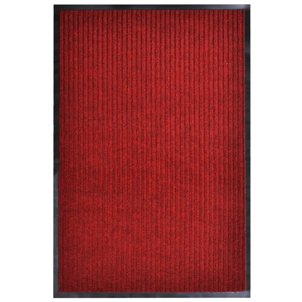 Rohožka červená 160 x 220 cm PVC