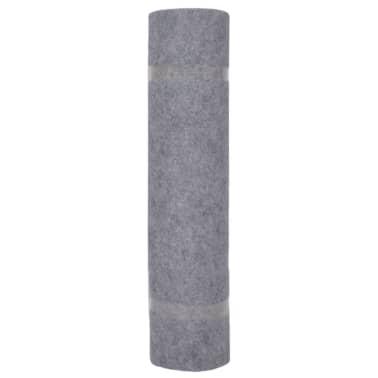 vidaXL Tapis strié pour exposition 1,6x10 m Gris[2/3]