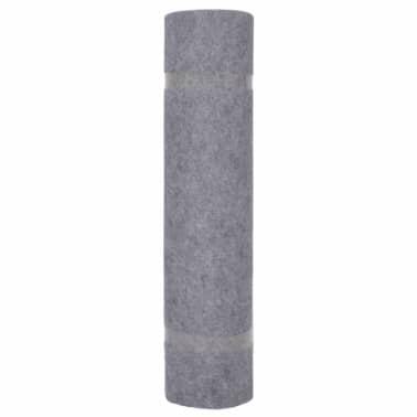 vidaXL Tapis strié pour exposition 1,6x15 m Gris[2/3]