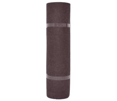 vidaXL Tapis strié pour exposition 1,6x15 m Marron[2/3]