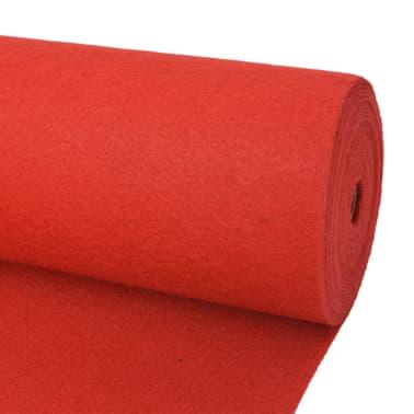 vidaXL Tapis pour exposition 1,6x12 m Rouge[1/3]