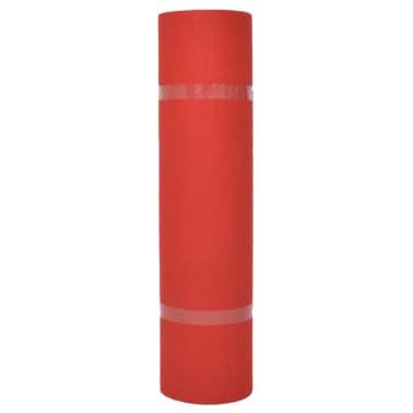 vidaXL Tapis pour exposition 1,6x12 m Rouge[2/3]