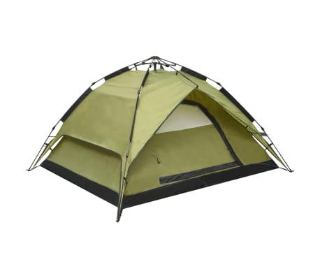 vidaXL Samorozkladací stan pre 2-3 osoby 240x210x140 cm, zelený