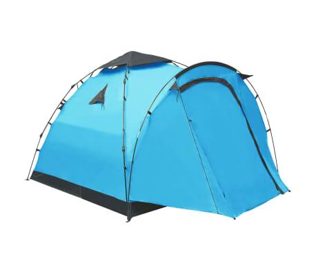 vidaXL Pop-up campingtält 3 personer blå