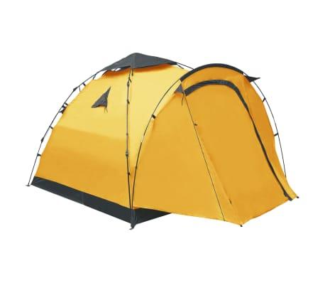 vidaXL Pop-up campingtelt 3 personer gull