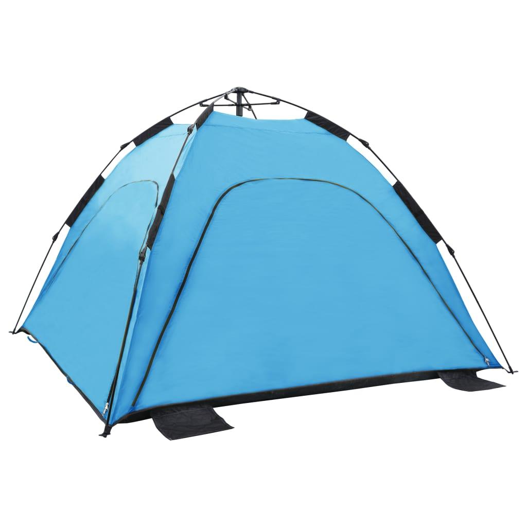 9992224 Pop-Up-Strandzelt 220 x 220 x 160 cm Blau