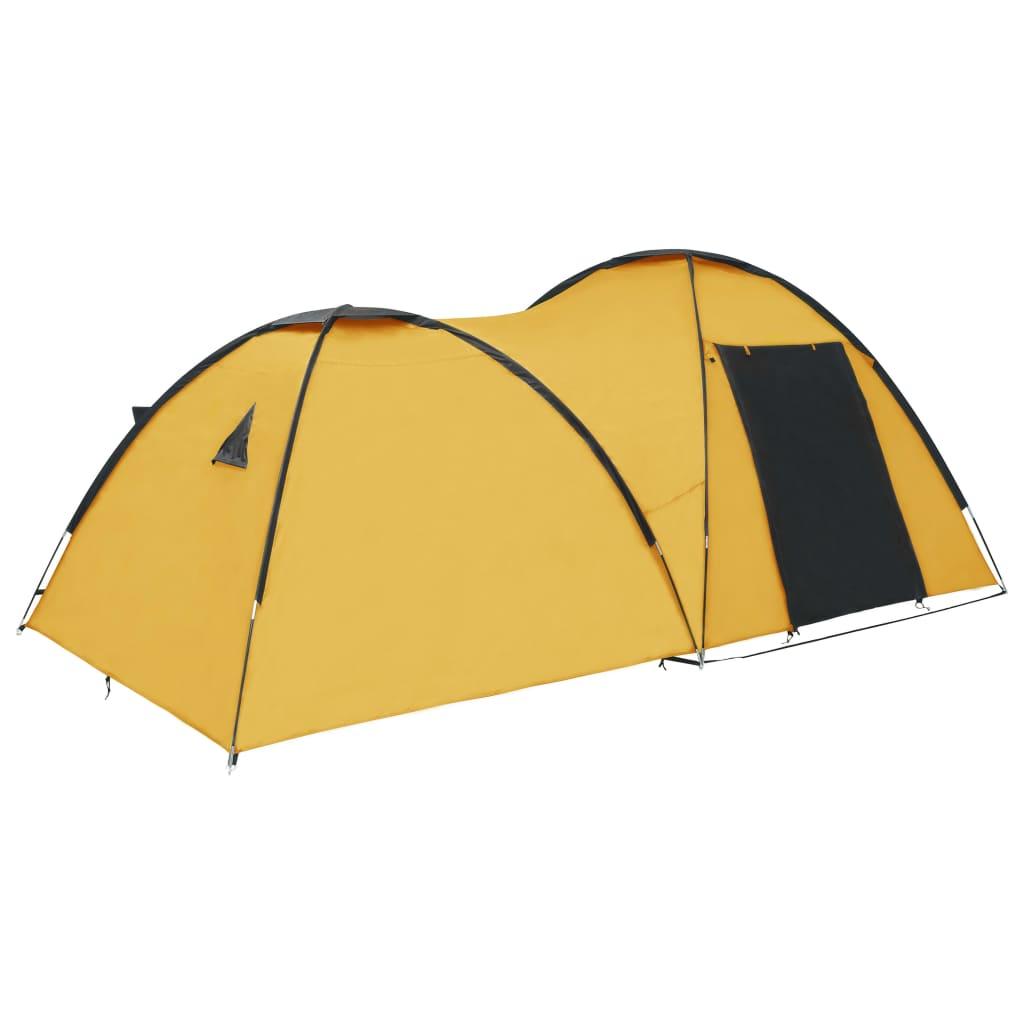 9992235 Camping-Igluzelt 450×240×190 cm 4 Personen Gelb