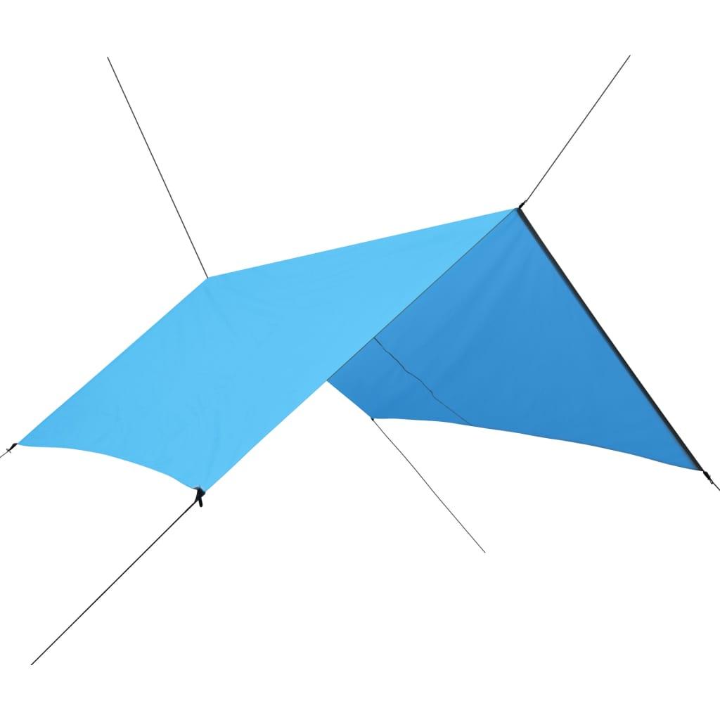 vidaXL Afdekzeil 3x2,85 m blauw