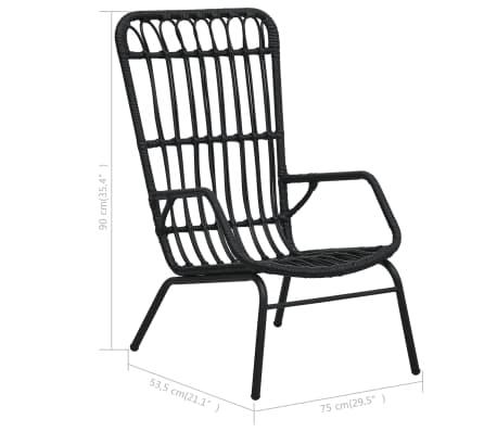 polyrattan szék vida xl