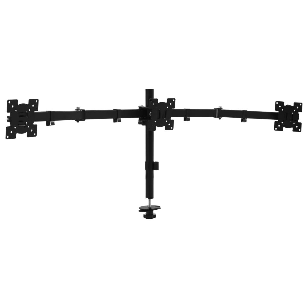 Trojitý stolní držák na monitor 13–23''