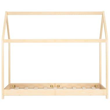vidaXL Vaikiškos lovos rėmas, 80x160cm, pušies medienos masyvas[3/7]