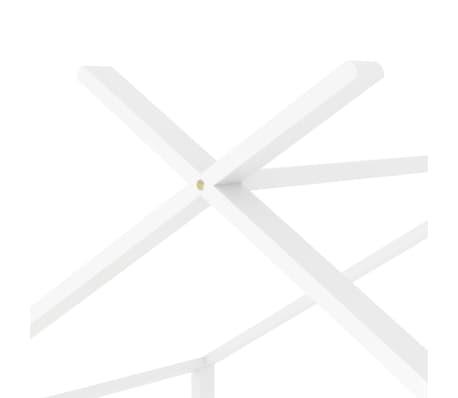 vidaXL Vaikiškos lovos rėmas, baltos spalvos, 80x160cm, pušies masyvas[7/8]