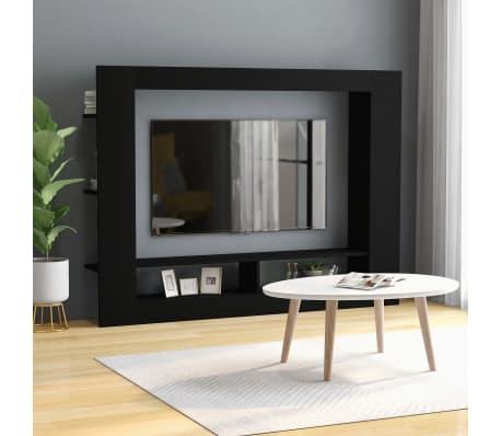 TV Schrank Spanplatte Wohnwand Medienwand Anbauwand 152x22x113cm mehrere Auswahl