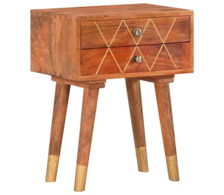 vidaXL Noční stolek 43 x 30 x 58 cm masivní mangovníkové dřevo