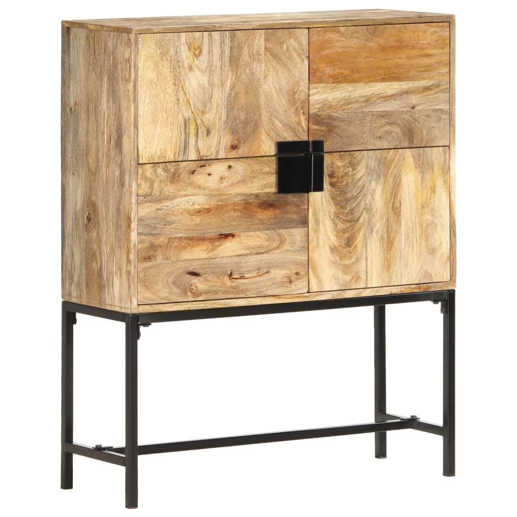 vidaXL Comodă, 80 x 30 x 100 cm, lemn masiv de mango vidaxl.ro