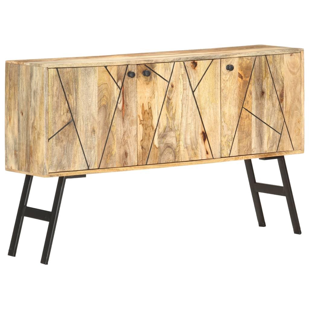 vidaXL Servantă, 118 x 30 x 75 cm, lemn masiv de mango vidaxl.ro
