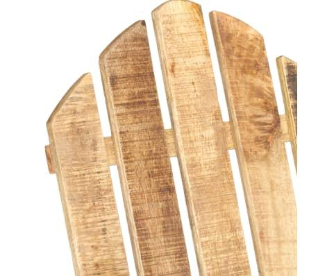vidaXL Scaun balansoar de grădină, lemn masiv de mango[5/11]