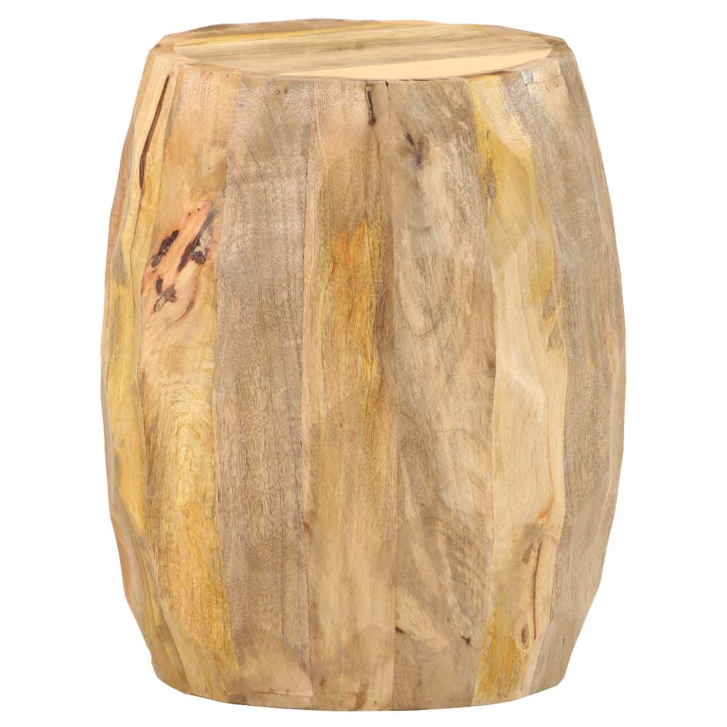 vidaXL Taburet, lemn masiv de mango poza vidaxl.ro